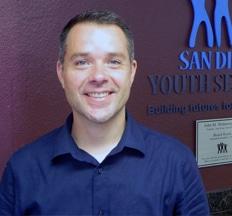 Steven Jella, San Diego Youth Services Associate Executive Director