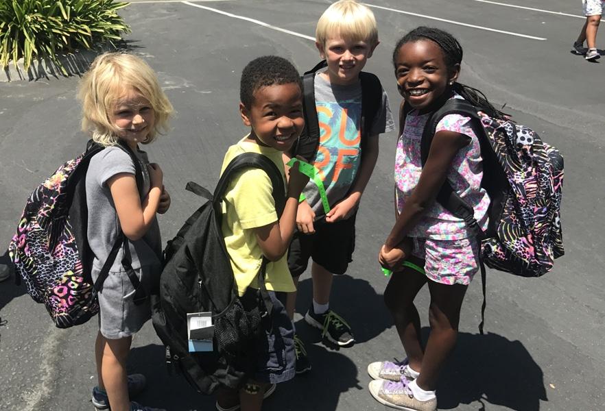 Children at Henry Schein Orthodontics event
