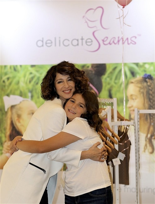 Delicate Seams founder Aida Yodites and her daughter Faith