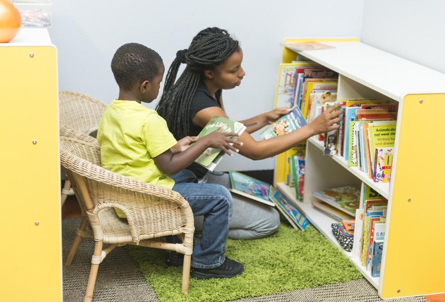 I CARE Book Corner