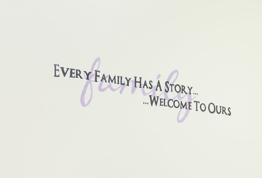 I CARE Family Quote