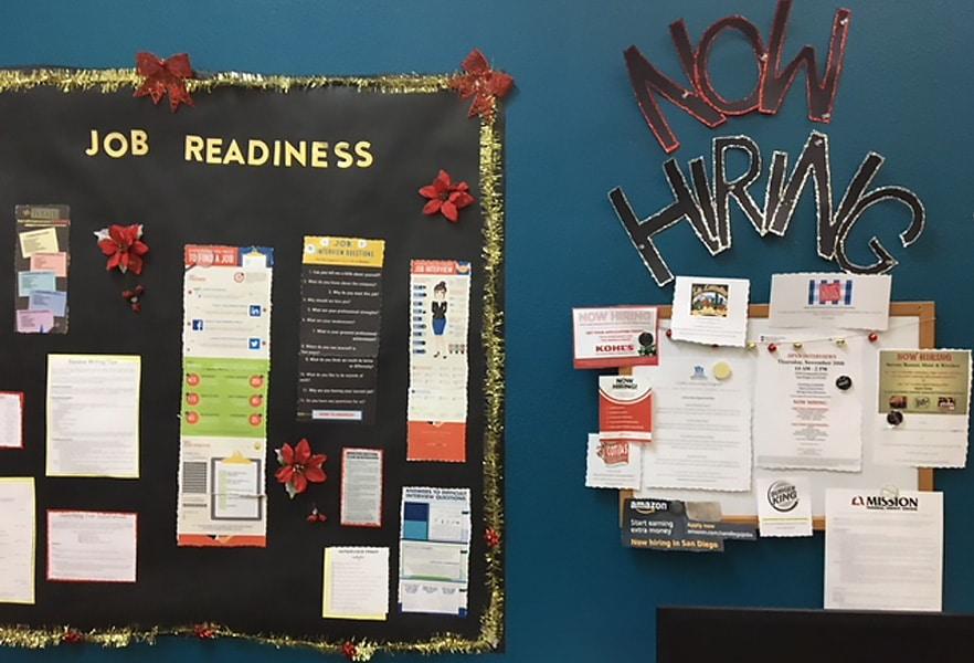 I CARE job readiness area