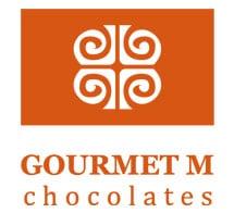 Gourmet M Chocolates Logo