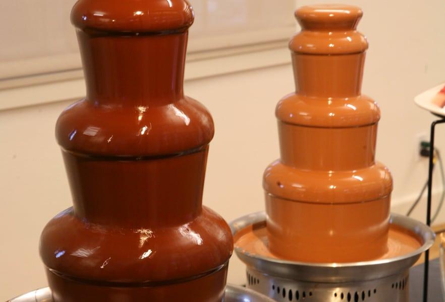 Euro chocolate fountain
