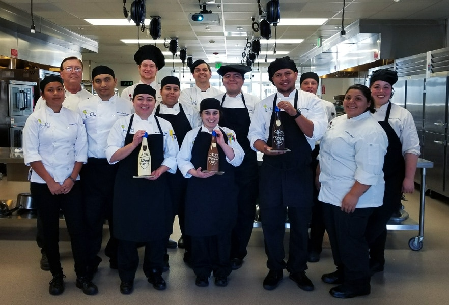 San Diego Mesa College pastry students