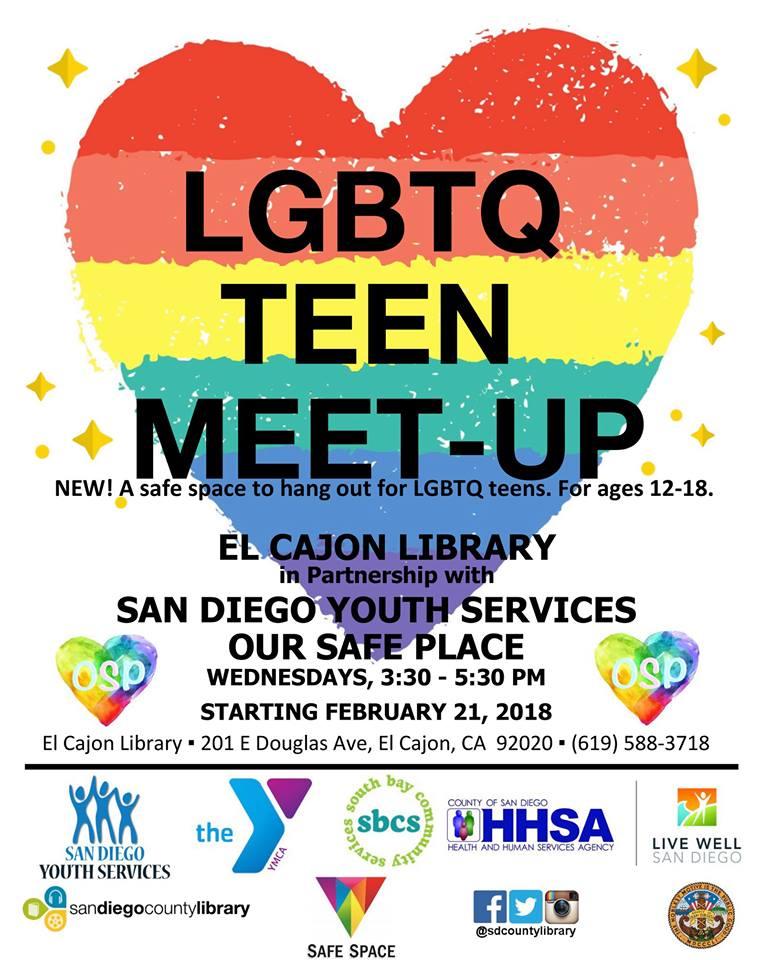 LGBTQ Teen meet up