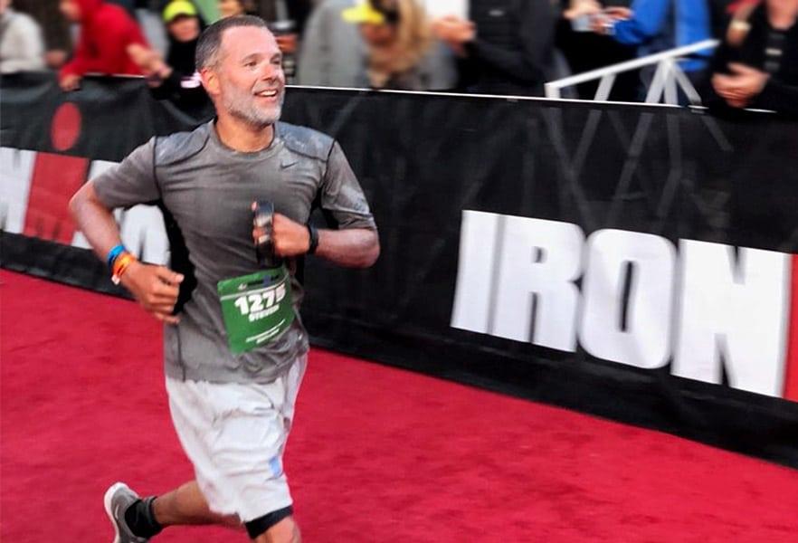Steven Jella running