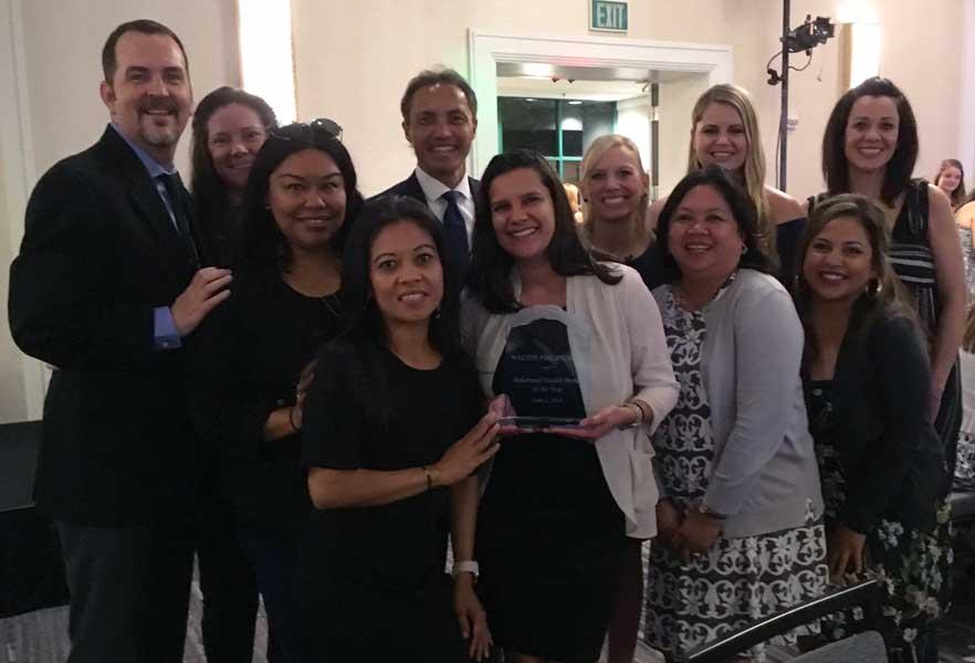 Walter Philips Behavioral Health Award and Staff