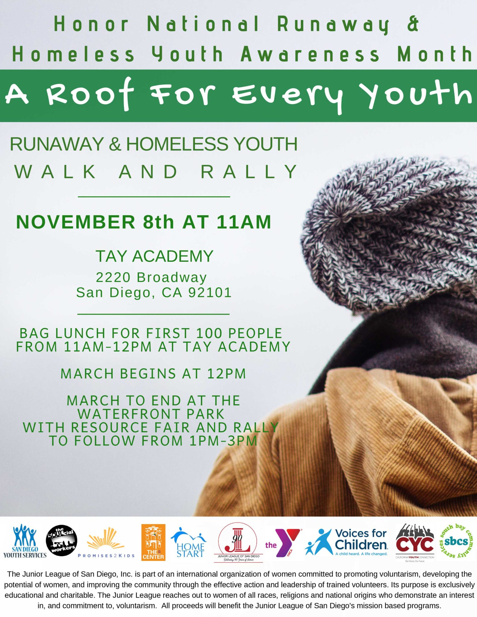 Runaway Homeless Youth Flyer