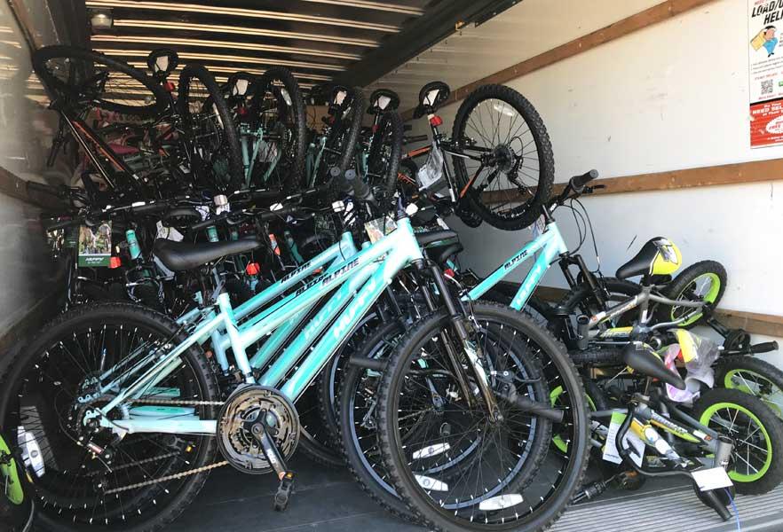 PricewaterhouseCoopers Bikes