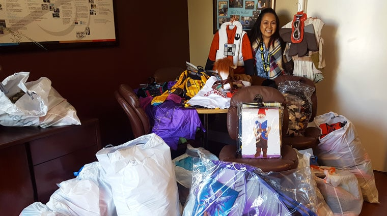 Warren-Walker Halloween Costume Donation
