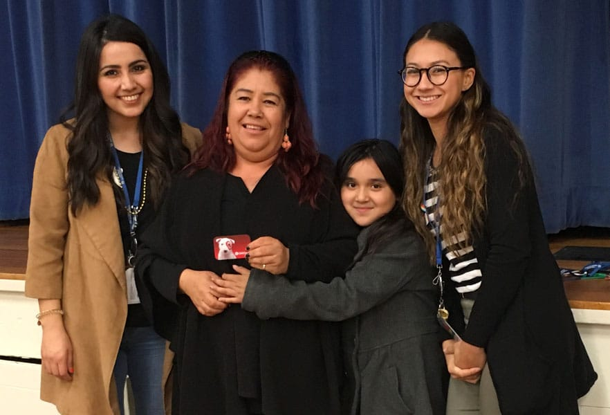SDYS staff, youth and their parent