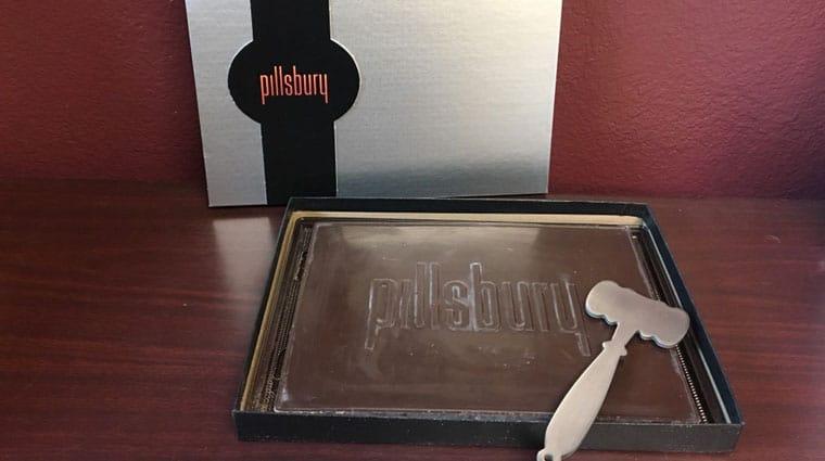 Pillsbury chocolate donation