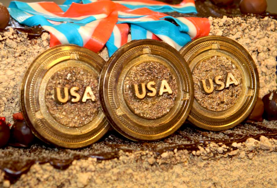 Eclipse chocolate medals