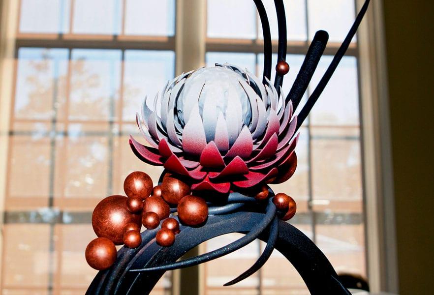Fairmont Grand Del Mar chocolate flower