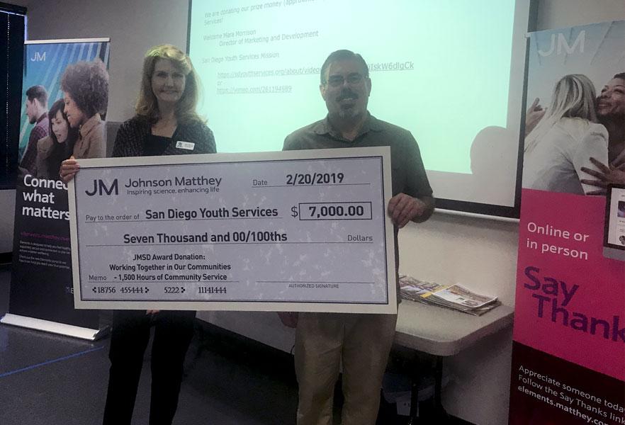 JMSD Donation
