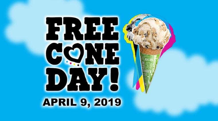 Ben &Jerry's Free Cone Day