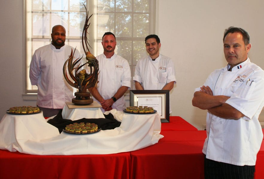 San Diego Culinary Institute   Chef Bruno Albouz & Pastry Students