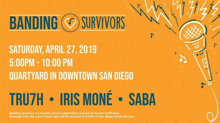 Banding Survivors event
