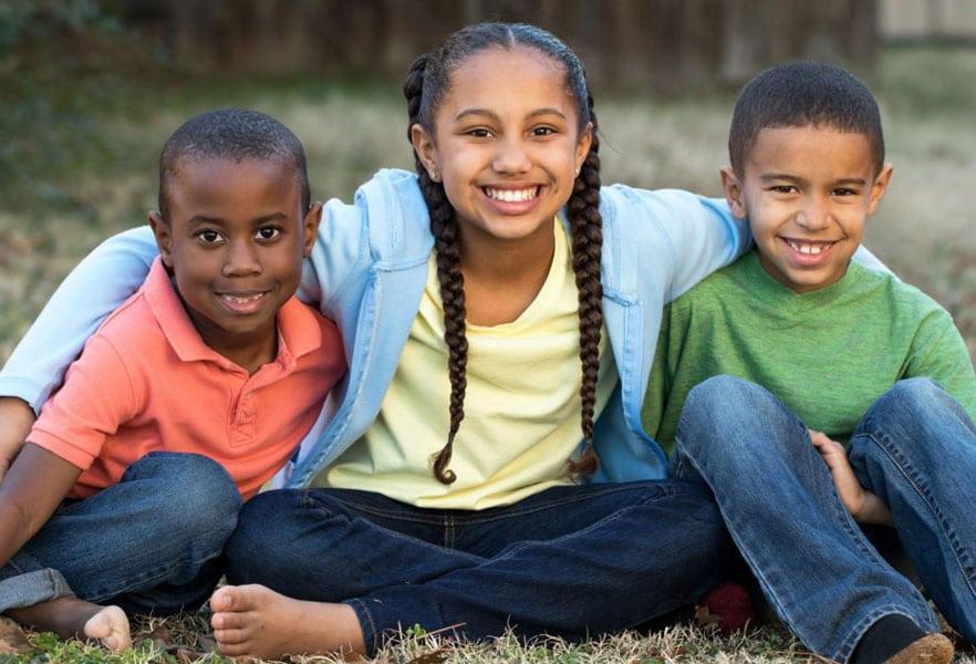 Foster Care three children