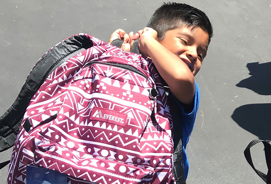 Henry Schein 2019 Boy With Backpack