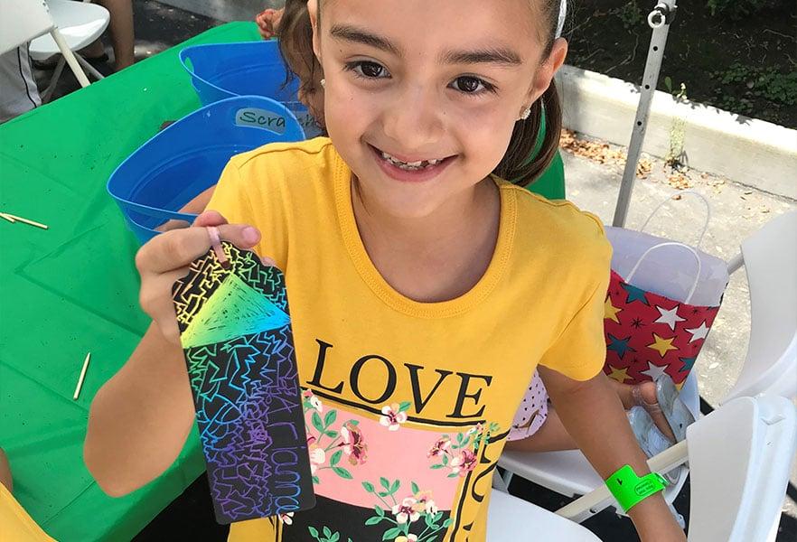 Henry Schein 2019 Girl With Bookmark