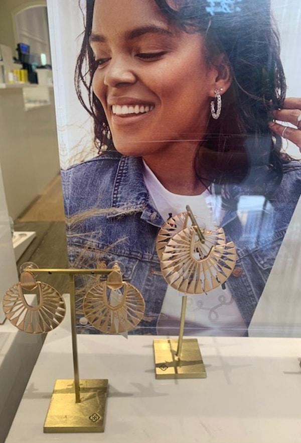 Kendra Scott Gold Earrings