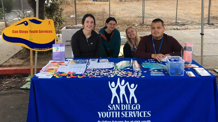 AWSD booth Medium | San Diego Youth Services