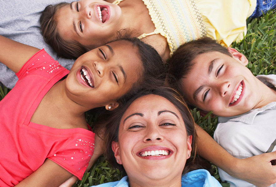 Adoption parent and children