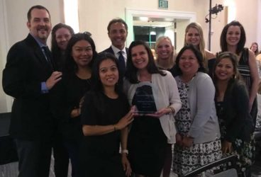 Walter Philips Behavioral Health Award and Staff