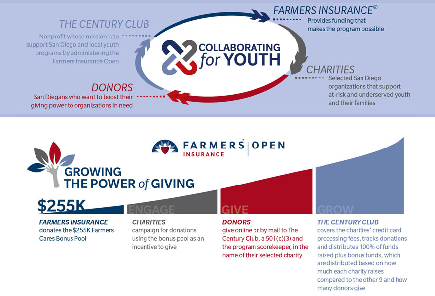 How Champions for Youth works graphic