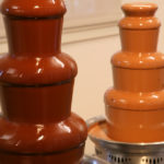 Euro chocolate fountain