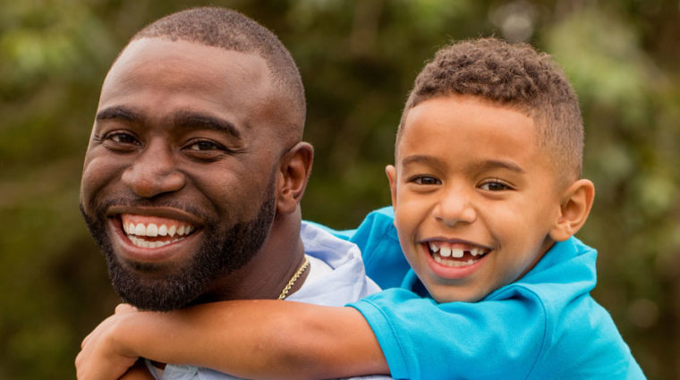 Foster Care parent and child