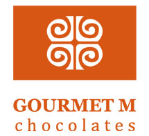 Gourmet M Chocolates Logo
