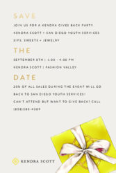 Kendra Gives Back Party @ Fashion Valley
