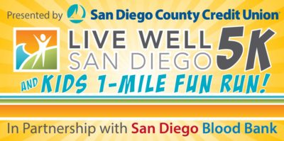 Live Well San Diego 5K and Kids 1-Mile Fun Run @ Waterfront Park