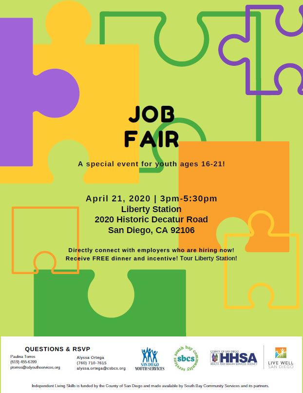 Job Fair @ Liberty Station