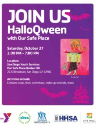 HalloQween with Our Safe Place @ Our Safe Place Golden Hill