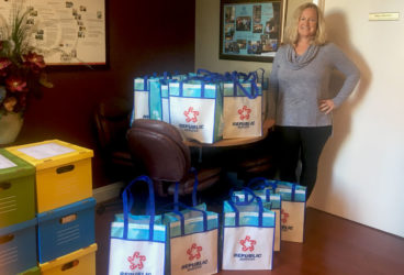Republic Services bag donations