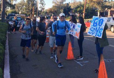 SDYS team running