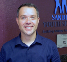 Steven Jella, San Diego Youth Services Associate Executive Director