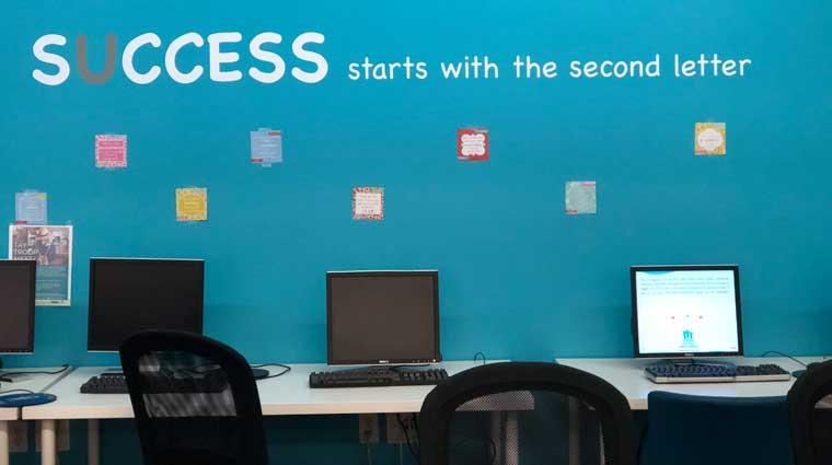 TAY computer lab