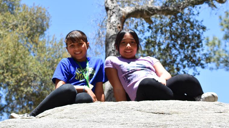 Youth at Camp Mariposa